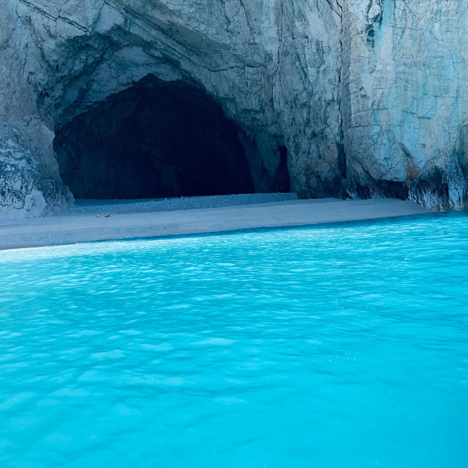 Cave and Clear Water