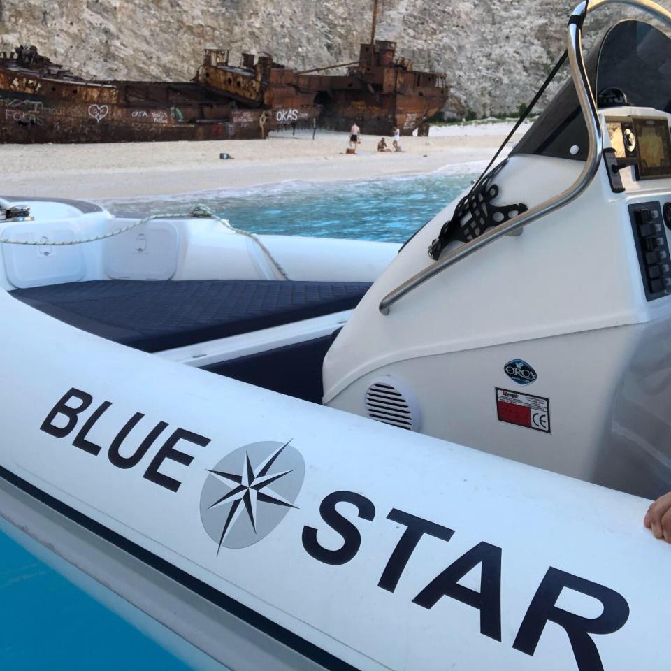 Zakynthos Blue Star